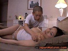 japanese mom and boy