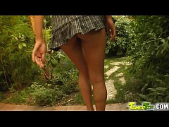 Tamed Teens Skinny 18 year old gets all holes drilled