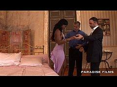PARADISE FILMS Ebony Jasmine has got into doubl...