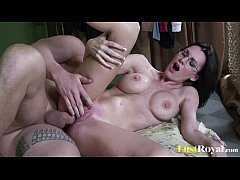 Gifted geek Brandi Edwards thirsty for sloppy facials