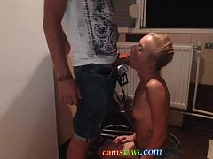 Dirty Webcam girl from camskiwi.com blowjob
