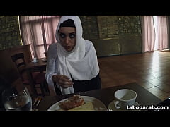 Hungry Arab Woman Fucks For Food and Shelter (T...