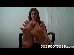 I want you to cover my cute little feet with yo...
