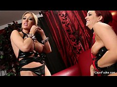 Capri Cavanni and Jayden Jaymes BTS