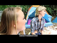 DaughterSwap- Horny Daughters Fuck Dads on Camp...