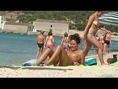 Nudist beach [full HD clip]