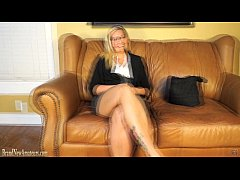 Blonde doing casting interview treated to cock ...