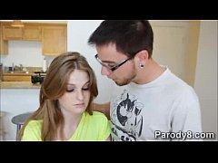 Fay teaches slutty teen Dani to do naughty blow...