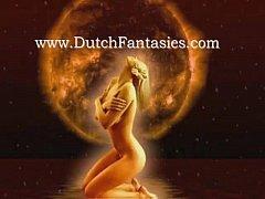 Blonde Dutch Retro MILF Fuck