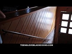 TeensLoveBlackCocks - Horny Blonde Teen Brutall...
