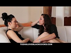 TeensLoveBlackCocks - Raven-Haired Teen First B...