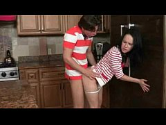Kendra Lust and Katie Stives threesome sex in t...