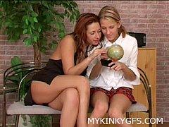 Hotty Lesbians Having Fun