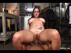Busty Girl Fucked By A Black Stud