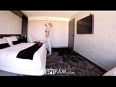 SpyFam Step father blows huge load into step daughter Bailey Brooke