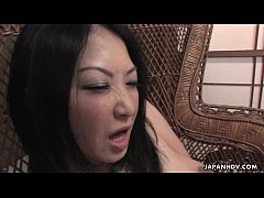 Amateur bimbo from the streets has a threesome