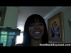Naughty Black Teen's Surprise