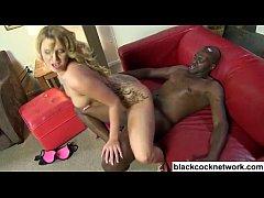 Blonde babe rides Lex Steele
