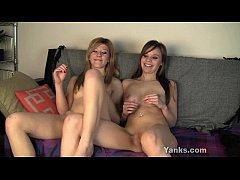 Lesbians Ginger And Tessa Masturbating