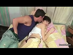 Bro Wake Up Step-Sister to Fuck her Anal and Fa...