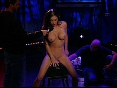 2 babe jessica jaymes rides sybian howard stern...