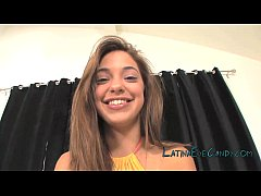 Latina Teen Glazing