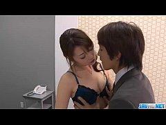 Subtitles - Beautiful Maki Hojo fucked hard in ...
