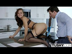 TUSHY Young Assistant Aidra Fox Fucked in the Ass