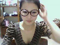 cute korean girl shows off on webcam - adultwebcams.club
