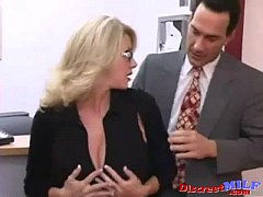 MILF Fucked Hard in the Office