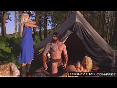 Brazzers - Storm Of Kings XXX Parody Part 2 Aruba JasmineandPeta JensenandRo - 8 min