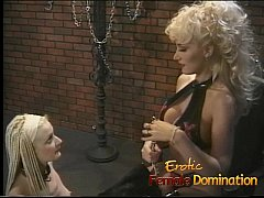 Cute tight ass blonde learns how to be a good slave-6