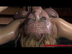 BDSM sub Darling annihilated by machine