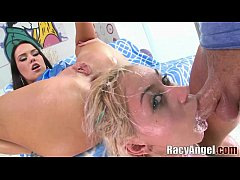 Ass To Lips Threesomes by Megan Rain with Zoey ...