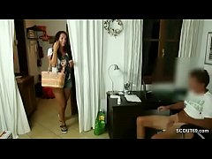 German Mom Caught Young Step-Son Masturbate and...