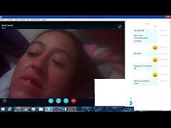 web cam masturbandose en skype
