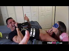 Sexy Teen Real GF (layla london) Perform In Fro...