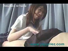 Poor Innocent Young Asian School Girl Tied Up a...