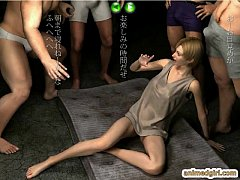3d girl violated
