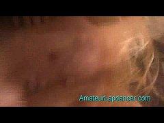 Amateur lapdancer radka does hot strip 4