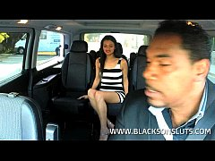 Black Taxi Driver Pounds Alicia Poz