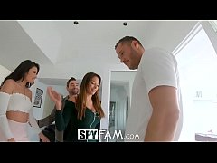 Spyfam Thanksgiving fuckfest with Anissa Kate a...