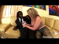 Large Butt Sara Jay Giving Blowjob