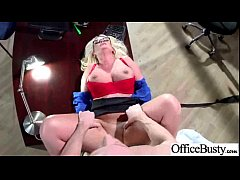 (julie cash) Worker Sexy Busty Girl Perform Sex...