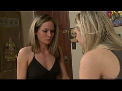 Mature blonde and Scarlet Red have lesbian sex ...