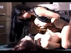 Sexy Latina Forcefeeding Milk