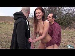 MyFirstPublic - Horny Slut Gabriella Daniels en...