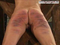 Hard Spanking - Humiliated Bitches