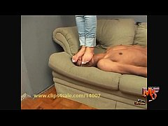 Hard Face Trample and Humiliation- Foot Fetish Action