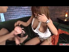 Kokoa Ayane amazes with sloppy blowjob and hard...